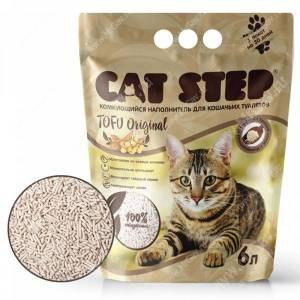 Наполнитель В НАЛИЧИИ Cat Step Tofu Original 12 л