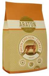 Сухой корм В НАЛИЧИИ Araton Cat Chicken&Turkey 1.5 кг