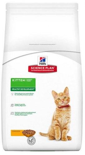 Сухой корм Hill's Plan Healthy Development сухой корм для котят с курицей 400 г