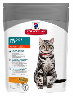 Сухой корм Hill's Science Plan Indoor Cat сухой корм для домашних кошек с курицей 0,3 кг