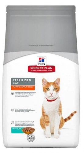 Сухой корм В НАЛИЧИИ Hill's Science Plan Sterilised Cat сухой корм для кошек и котят с тунцом 0,3 кг