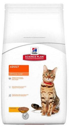 Сухой корм Hill's Science Plan Optimal Care сухой корм для кошек с курицей 2 кг