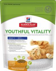 Сухой корм Hill's Science Plan Youthful Vitality сухой корм для кошек старше 7 лет с курицей и рисом 250 г