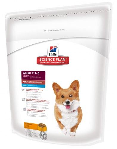 Сухой корм Hill's Science Plan Advanced Fitness сухой корм для собак мелких пород с курицей 800г