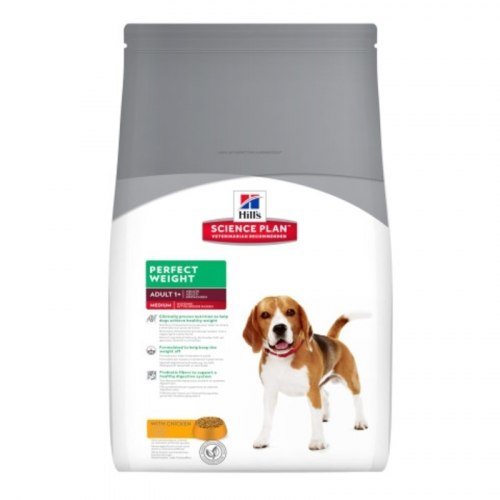 Сухой корм Hill's Science Plan Perfect Weight сухой корм для собак, склонных к набору веса с курицей 10 кг