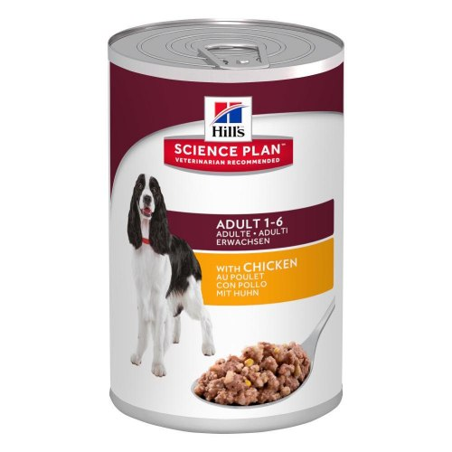 Влажный корм Hill's Science Plan д/взр.собак с курицей 370г
