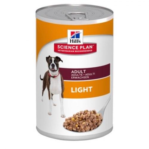Влажный корм Hill's Science Plan для взрослых собак, склонных к набору веса, 370 г