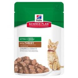 Влажный корм Hill's Science Plan Healthy Development для котят в ассортименте 12шт/85 г