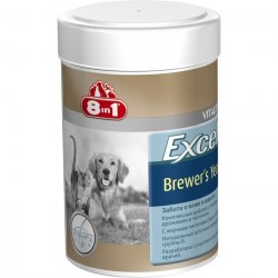 Добавка 8 in 1 Excel Brewer's Yeast 140 таб (1 таб на 4 кг).