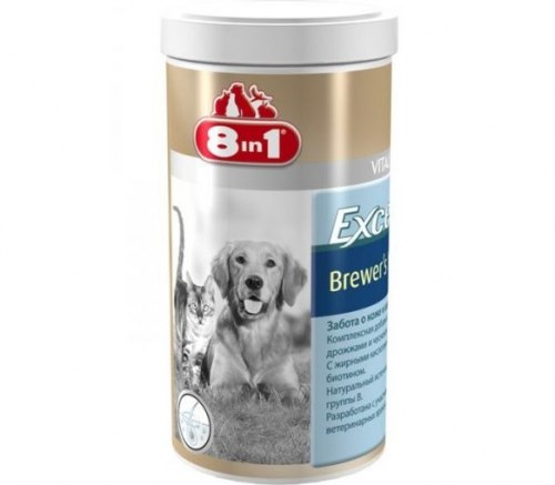 Добавка 8 in 1 Excel Brewer's Yeast 1430 таб (1 таб на 4 кг).
