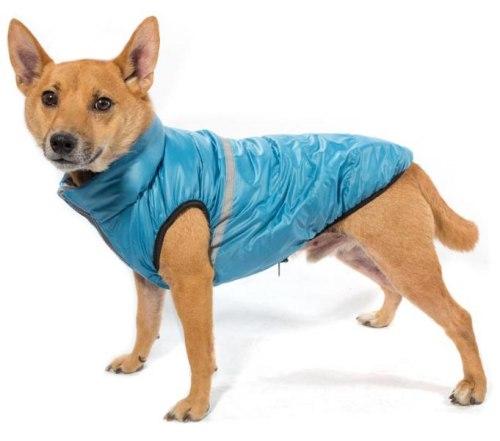 Жилет В НАЛИЧИИ Gamma для собак двусторонний Аквамарин