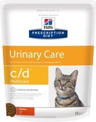 Сухой корм В НАЛИЧИИ Hill's Prescription Diet c/d Urinary Stress Urinary Care сухой корм для кошек с курицей 400г