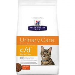 Сухой корм В НАЛИЧИИ Hill's Prescription Diet c/d Urinary Stress Urinary Care сухой корм для кошек с курицей 1,5 кг