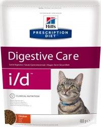 Сухой корм В НАЛИЧИИ Hill's Prescription Diet i/d Digestive Care сухой корм для кошек с курицей 400 г