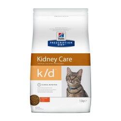Сухой корм В НАЛИЧИИ Hill's Prescription Diet k/d Kidney Care сухой корм для кошек с курицей 1,5 кг
