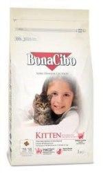 Сухой корм BonaCibo для котят с курицей, анчоусом и рисом 1,5 кг