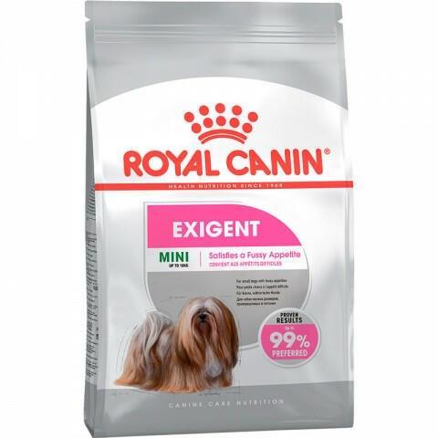 Сухой корм Royal Canin для привередливых в питании собак Mini Exigent 1 кг