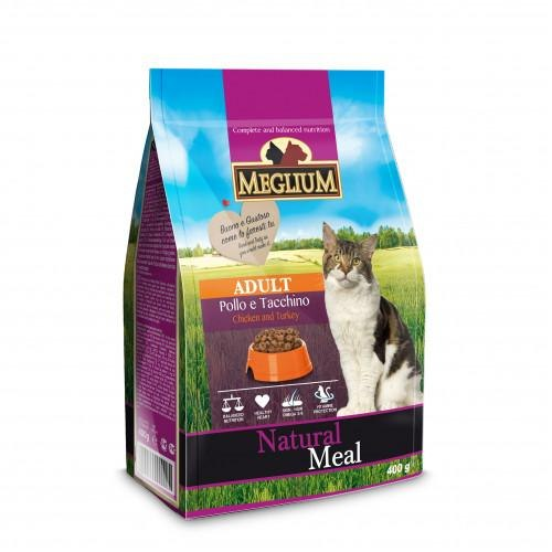 Сухой корм MEGLIUM Adult Chicken & Turkey 15 кг