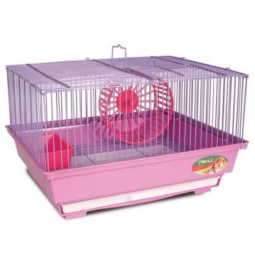 Клетка для мелких животных, эмаль, 345*280*215мм