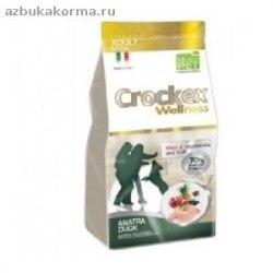 Сухой корм CROCKEX WELLNES MINI DOG Adult Duck & Rice 7,5 кг