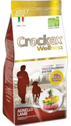 Сухой корм CROCKEX WELLNES MINI DOG Adult Lamb & Rice 7,5 кг