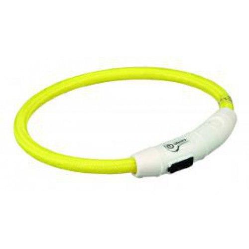 Ошейник В НАЛИЧИИ TRIXIE светящийся, USB Flash, XS-S, 35см/диам.7мм