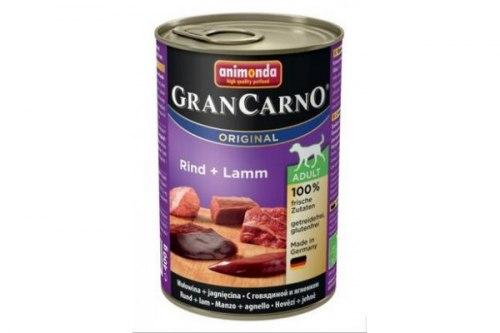 Консерва В НАЛИЧИИ Animonda GranCarno для собак, говядина с ягненком, 400г