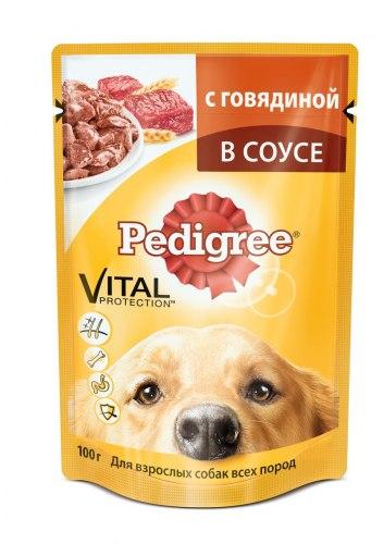Консерва В НАЛИЧИИ Pedigree® с говядиной, 100г