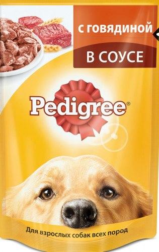 Консерва В НАЛИЧИИ Pedigree® для щенков с говядиной, 100г