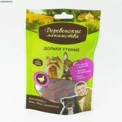 Дольки утиные В НАЛИЧИИ Деревенские лакомства 55 г