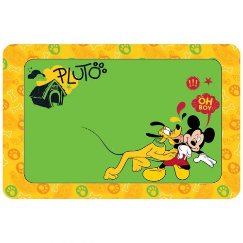 Коврик В НАЛИЧИИ Triоl-Disney под миску Pluto&Mickey, 430*280мм