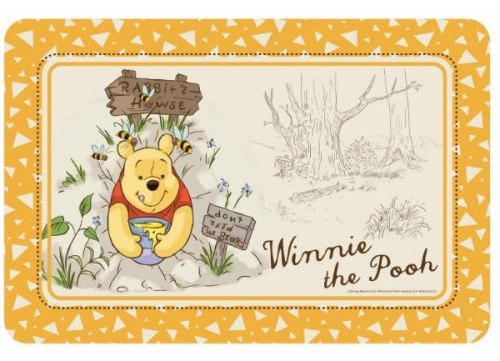 Коврик В НАЛИЧИИ Triоl-Disney Disney Winnie the Pooh, 430*280мм