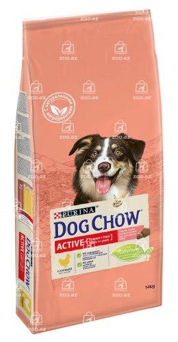 Сухой корм НА РАЗВЕС Dog Chow для взрослых собак с лососем, 1 кг