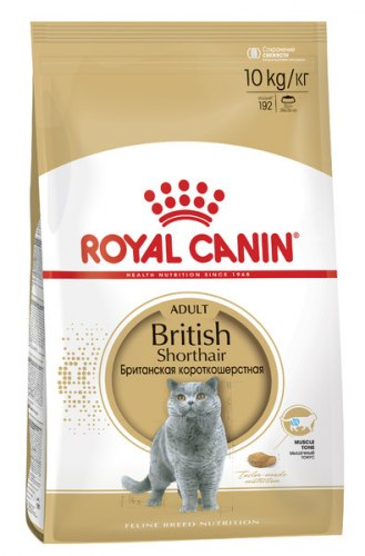 Сухой корм Royal Canin British Shorthair Adult, 500г