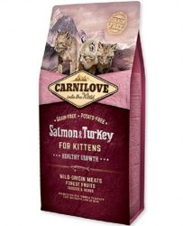 Сухой корм Carnilove Salmon & Turkey for Kittens 6 кг
