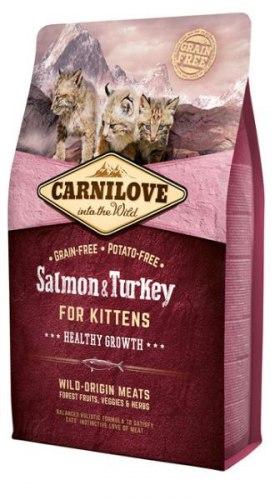Сухой корм Carnilove Salmon & Turkey for Kittens 2 кг