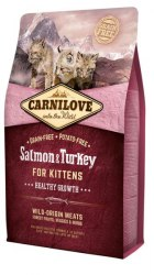 Сухой корм Carnilove Salmon & Turkey for Kittens 2 кг