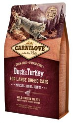 Сухой корм Carnilove Duck & Turkey for Large Breed Cats 2 кг