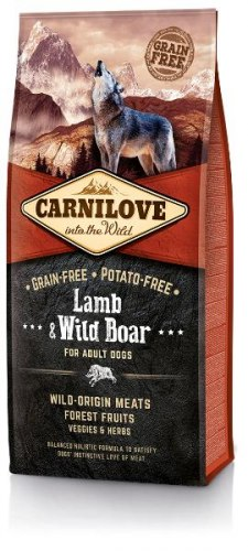 Сухой корм Carnilove Lamb & Wild Boar for Adult 12 кг