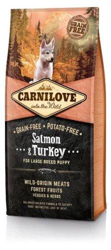 Сухой корм Carnilove Salmon &Turkey for Large Breed Puppy 1,5 кг
