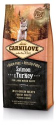 Сухой корм Carnilove Salmon &Turkey for Large Breed Puppy 1,5 кг