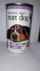 Консерва В НАЛИЧИИ Eurodog с печенью, 1240г
