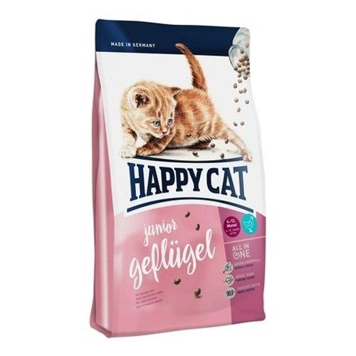 Сухой корм Happy Cat Junior (Птица) 4 кг