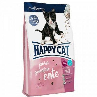 Сухой корм Happy Cat Junior Grainfree (Утка) 4 кг