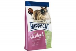 Сухой корм Happy Cat Sterilised Weide-Lamm (ягненок) 1,4 кг