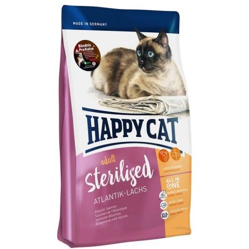 Сухой корм Happy Cat Sterilised Atlantik-Lachs (лосось) 10 кг