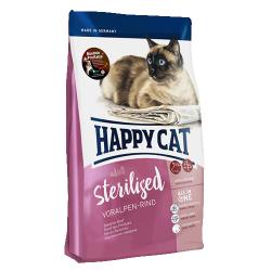 Сухой корм Happy Cat Sterilised Voralpen-Rind (говядина) 1,4 кг