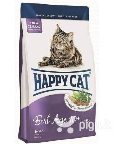 Сухой корм Happy Cat Best Age 10+ 4 кг