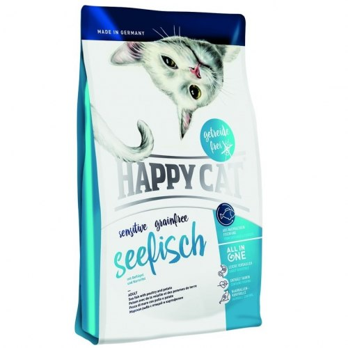 Сухой корм Happy Cat Sensitive Grainfree Seefisch 4 кг