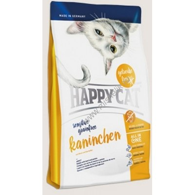 Сухой корм Happy Cat Sensitive Grainfree Kaninchen 1,4 кг